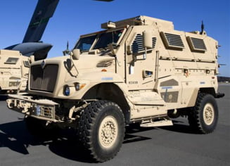 Romania primeste blindate de la Pentagon pentru razboiul din Afganistan
