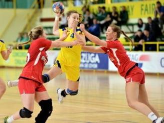 Romania s-a calificat cu mari emotii la Campionatul Mondial de handbal feminin