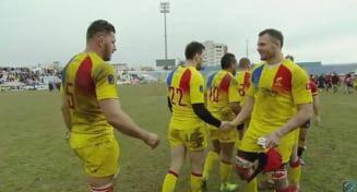 Romania s-a calificat direct la Campionatul Mondial de rugby dupa o imensa surpriza in Belgia