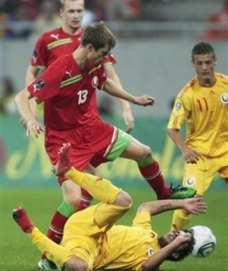 Romania s-a facut de ras cu Belarus