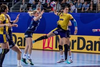 Romania se chinuie cu Kazahstan la Campionatul Mondial de handbal feminin
