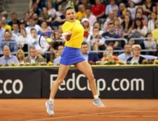 Romania si Franta sunt la egalitate dupa prima zi a semifinalei de Fed Cup