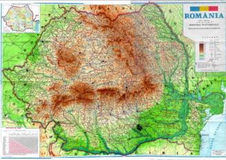 Romania si-a marit suprafata la 238.397 kilometri patrati
