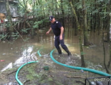 Romania sub apa: In unele zone, situatia e catastrofala. Pompierii sunt chemati si de acasa (Foto&Video)
