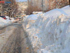 Romania sub zapada: Sate izolate, scoli inchise, drumuri blocate