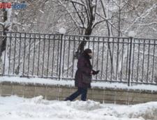 Romania sub zapada Judetele in care elevii nu merg luni la scoala