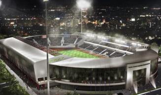 Romania va avea inca un stadion ultramodern construit din bani publici