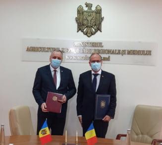 Romania va construi apeducte pe sub Prut. Cum va fi alimentata cu apa Republica Moldova