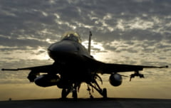 Romania va face politie aeriana cu avioanele F-16, dar numai in regie proprie. NATO nu ne-a dat inca unda verde pentru misiuni (Video)