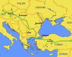 Romania va finanta Nabucco cu 400-500 milioane de euro