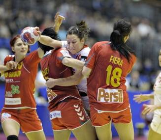 Romania va intalni Suedia in semifinalele Campionatului European de handbal