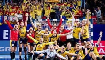 Romania la Campionatul European de handbal