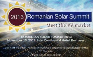 Romanian Solar Summit 2013: Este sau nu eficienta energia solara in Romania?