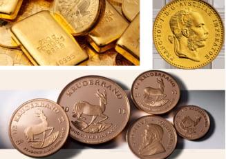 Romanii au cumparat peste 2,5 tone de aur direct de la banca: Il fac cadou la botezuri si nunti