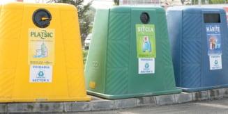 Romanii de la oras si-ar selecta deseurile pentru reciclare
