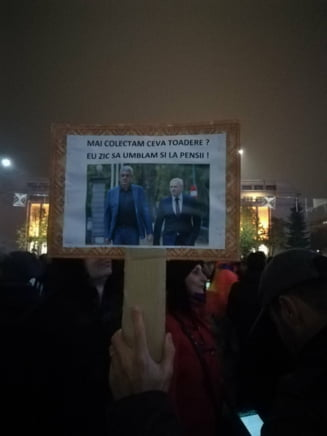 """Romanii ies din nou in strada si protesteaza fata de modificarile fiscale: """"M-am saturat sa fiu furat!"""""""