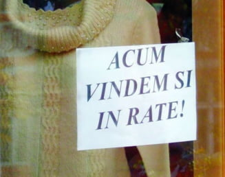 Romanii isi cumpara haine si pantofi in rate