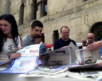 Romanii nu mai au incredere in presa - raport FreeEx
