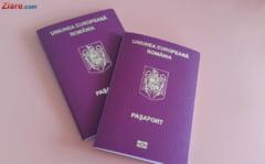 Romanii peste 25 de ani vor avea pasapoarte valabile 10 ani. Legea merge la Iohannis