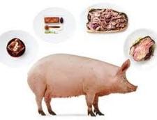 Romanii prefera carnea de porc - Cat mancam pe an