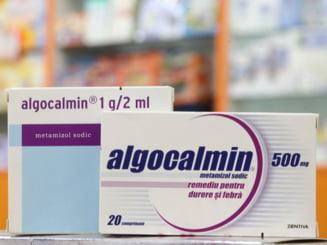 Romanii trateaza durerile de cap cu un milion de cutii de Algocalmin, lunar