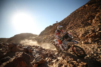 Romanul Emanuel Gyenes a castigat raliul Dakar la clasa Malle Moto