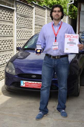 Romanul care a redus consumul de carburant a luat aurul si premiul special la Geneva