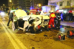 Romascanca in moarte cerebrala dupa un accident comis de un avocat beat