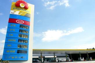 Rompetrol scumpeste benzina si motorina