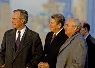 Ronald Reagan i-a cerut ajutorul lui Gorbaciov, in cazul unei invazii extraterestre