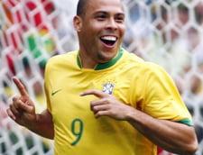 Ronaldo, despre meciul Romania - Brazilia
