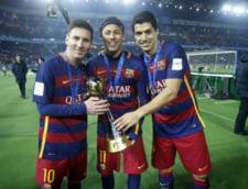 Ronaldo isi incepe Anul Nou rapus de trioul MSN de la Barcelona