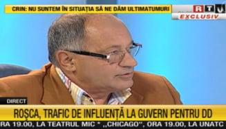 Rosca Stanescu a parasit nervos studioul Romania TV: Nu pe acolo, acolo e geamul