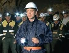 Rosia Montana: Minerii intra din nou in subteran
