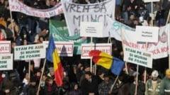 Rosia Montana: Minerii protestatari isi amana greva foamei
