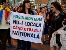 Rosia Montana, contestata si la Budapesta: Protest in fata Ambasadei Romaniei