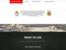 Rosia Montana Comisia speciala a lansat un site: ce informatii vor fi facute publice pe Internet