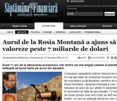 Rosia Montana a cheltuit pe publicitate 12 milioane de euro in ultimii 3 ani