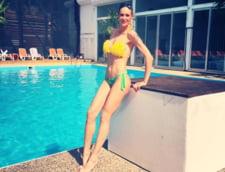 Roxana Ciuhulescu costum baie