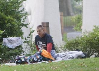 Rromii fac din nou ravagii in Londra: Evacuati dintr-un parc, s-au instalat intr-o zona istorica (Galerie foto)