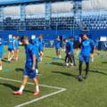 Ruben de la Barrera a condus primul antrenament la FC Viitorul