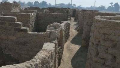 """Ruinele unui oras faraonic, descoperite in recent in Egipt. Arheolog: """"Aceasta este o descoperire foarte importanta"""""""