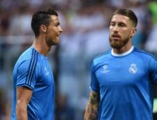 Ruptura in vestiarul de la Real Madrid: Cristiano Ronaldo a intrat in dizgratia lui Sergio Ramos