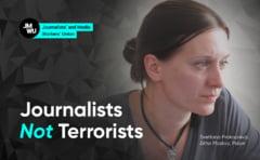 """Rusia: O jurnalista care l-a criticat pe Vladimir Putin a fost condamnata pentru """"justificare a terorismului"""""""