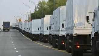 Rusia, inca un convoi umanitar in estul separatist al Ucrainei
