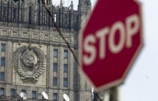 Rusia, indignata din cauza unei sanctiuni: Confirma adevaratul scop al scutului antiracheta
