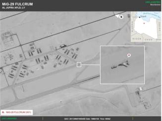 Rusia a trimis avioane de razboi in Libia, pentru a sustine mercenari care lupta impotriva guvernului - raport militar