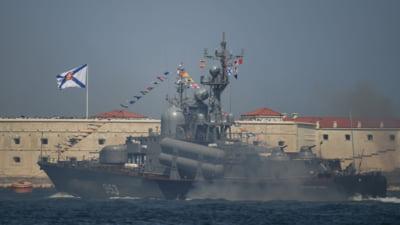 Rusia aduce inca zece nave de razboi in Marea Neagra, pe fondul tensiunilor cu Ucraina. Vedete de desant transferate din Marea Caspica