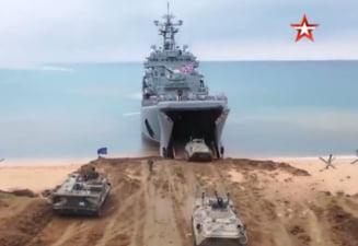 Rusia anunta inceperea retragerii trupelor de la granita cu Ucraina. In prezent, armata rusa desfasoara un vast exercitiu militar