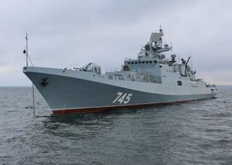Rusia are cea mai importanta prezenta militara in Marea Mediterana din ultimii ani